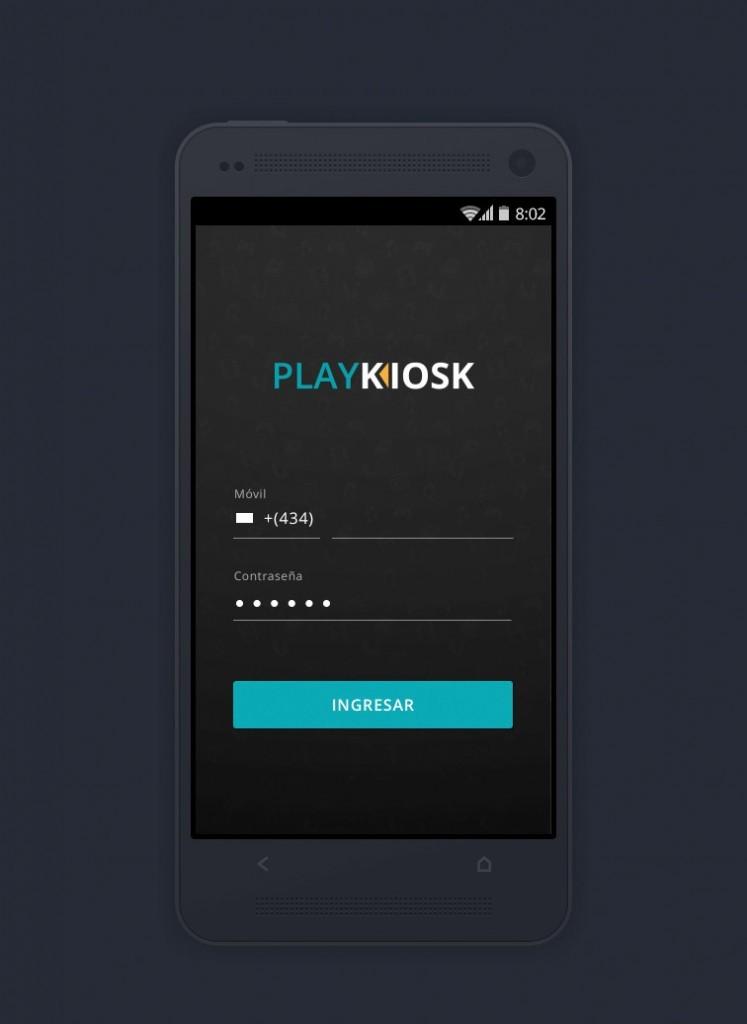 PlayKiosk desarrollo de APP